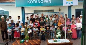 Safari Ramadhan dan Santunan Anak Yatim di PLN Ranting Kotanopan