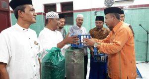 Tim Safari Ramadhan Pemkab Madina Kunjungi Masjid Nurul Huda Siabu
