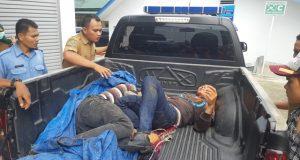 Mobil Bak Terbuka Masuk Jurang Sedalam 20 Meter Di Saba Purba