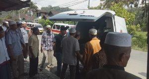 Calhaj Madina Meningggal dalam Perjalanan ke Medan