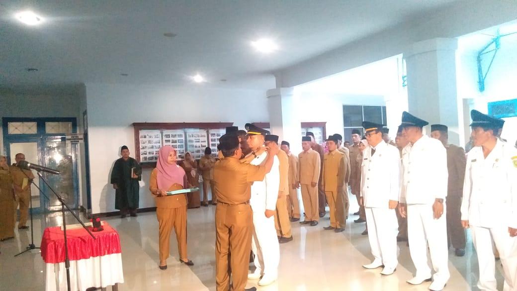 Sekda Lantik 39 Eselon III diantaranya 5 Orang Camat di Lingkungan Pemkab Madina