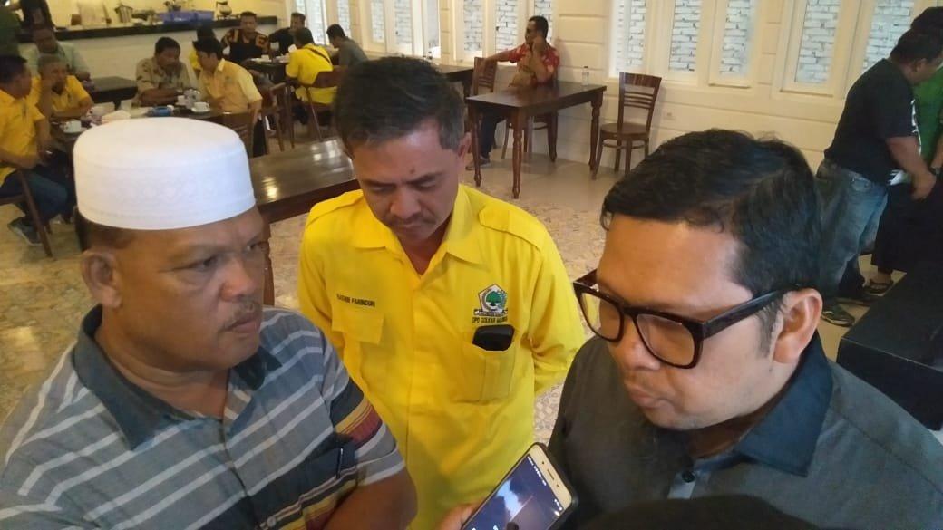 H. Aswin Calon Bupati Madina dari Golkar