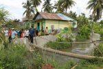 Sering Banjir Bupati Perintahkan Bangun Tanggul di Aek Sipolu-polu