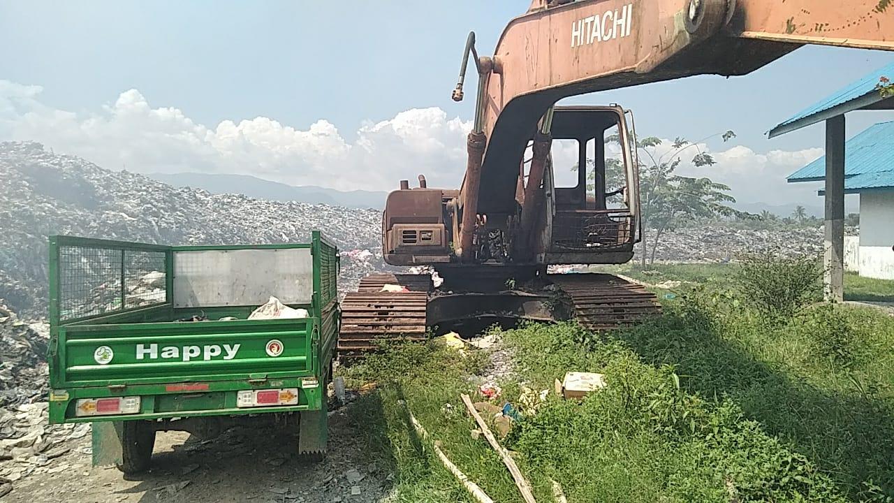 Tidak Dioperasikan, Mesin Pengolah Sampah di Desa Batang Gadis Berkarat