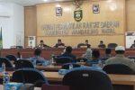 DPRD Madina Rekomendasi LKPJ Bupati TA 2018