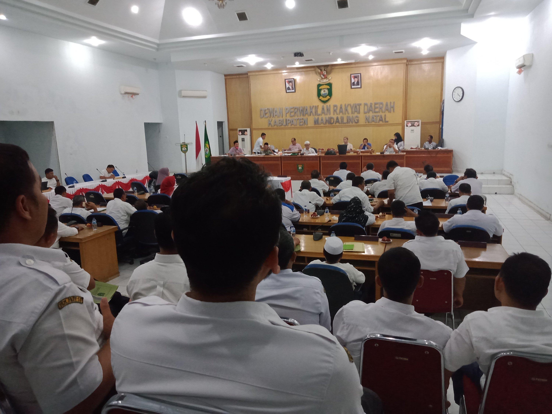 Banggar DPRD Madina Bahas KUPA- PPAS P.APBD 2019