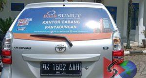 5 hari Berkantor Mobil Bank Sumut Parkir di Halaman DPRD Madina