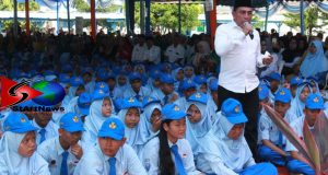 Gubernur Sumut Motivasi Guru dan Siswa Baru SMA Negeri 2 Plus Panyabungan