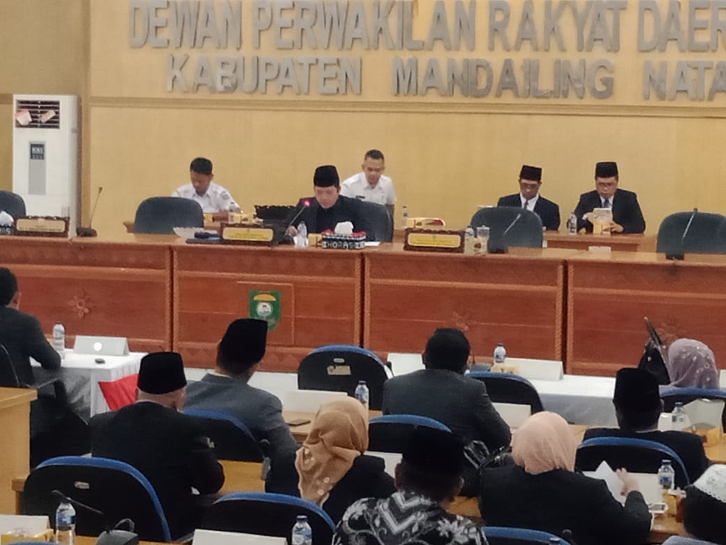 Hari Ini, DPRD Madina Laksanakan Sidang Paripurna Perdana