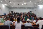 Ratusan Mahasiwa dan Pelajar Geruduk Kantor DPRD Madina
