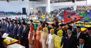 40 Anggota DPRD Dilantik, Irwan Daulay: Mari Libatkan Diri Dalam Membangun Madina