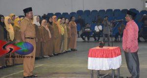 Sekretaris Daerah Madina Lantik 258 Kepala Sekolah SMP dan SD