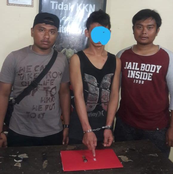 Polsek Panyabungan Tangkap Pemilik Narkoba di Gang Abadi