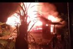 Tadi Malam, Sebuah Rumah Terbakar di Pidoli