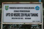 SD dan SMP Pulau Tamang Terabaikan