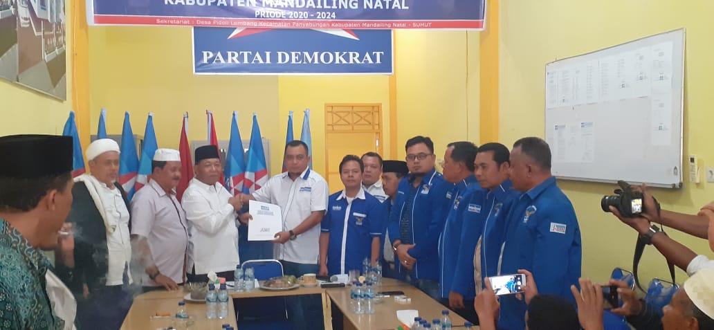 DPC Demokrat Minta Program Lapangan Kerja dan Tingkatkan Pelayanan BPJS Masuk Visi Misi Balon Bupati Madina