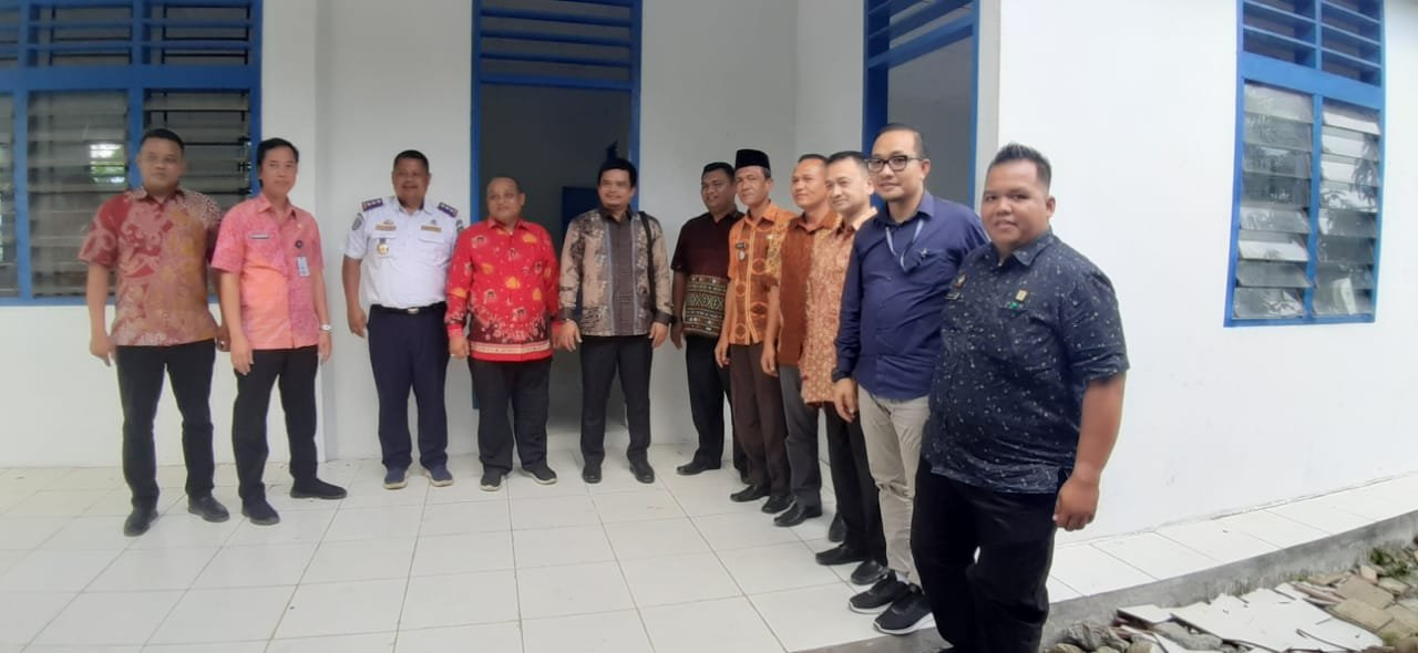 Kanwil Kemenkumham Sumut Tinjau Rencana Kantor Sementara ULP di Madina