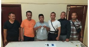 Polisi Amankan Warga Desa Lancat Lingga Bayu Pemilik Sabu
