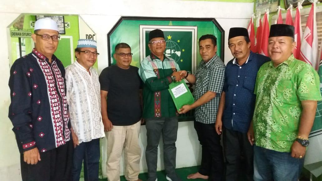 Ketua DPC PKB, Faslah Siregar Daftar jadi Balon Bupati Madina 2020