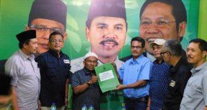 Brigjend TNI (Purn) M. Sofwat Nasution Kembalikan Berkas Pendaftaran ke PKB
