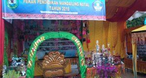 Hari Kedua Pameran Pendidikan Madina Sepi Pegunjung