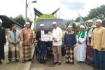Peduli Kebersihan, Bank Sumut Hibahkan Truk Sampah untuk Ponpes Musthafawiyah Purba Baru