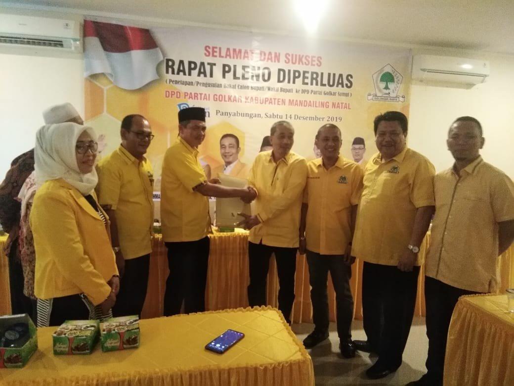 DPD Golkar Madina Usulkan 5 Nama Balon Bupati ke DPD Golkar Sumut