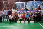 PB Garuda Panyabungan Juara Turnamen Badminton Banjar Pagur Cup I