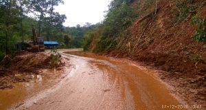 Jalur di Jalan Provinsi Panyabungan – Simpanggambir Sudah Lancar