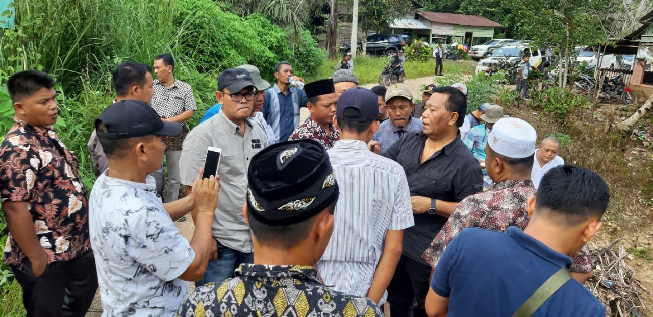 Bendungan di Ranto Baek Jebol, Bupati Madina Berjanji Segera Diperbaiki