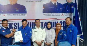 Demokrat Madina Serahkan Berkas 6 Balon Bupati dan Wakil Bupati ke DPD Sumut