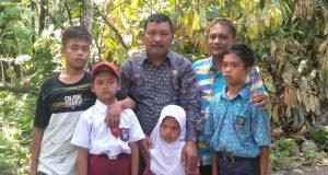 Ibu Kandung Menikah Lagi, Lima Bocah Terlantar Mendapat Perhatian Dinas Pendidikan Madina