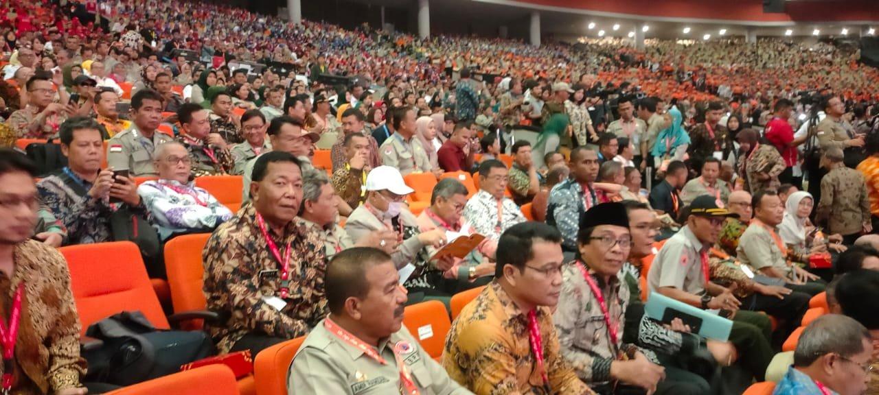 Bupati Madina Ikuti Rapat Koordinasi Penanggulangan Bencana