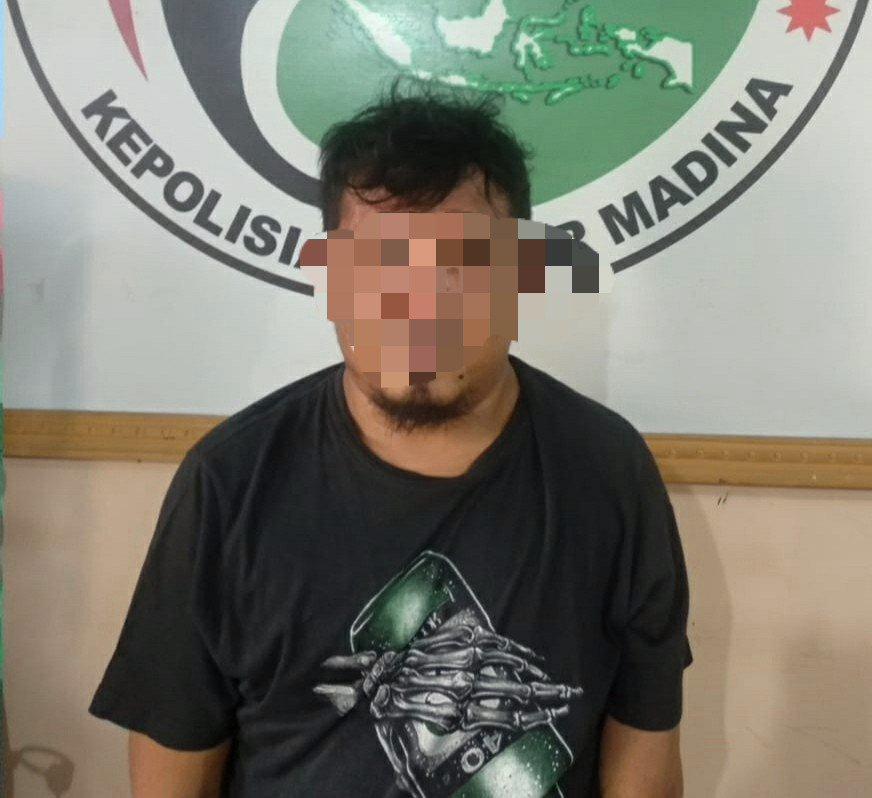 Tak Jera, SBR Kembali Ditahan Polres Madina dengan Kepemilikan Sabu