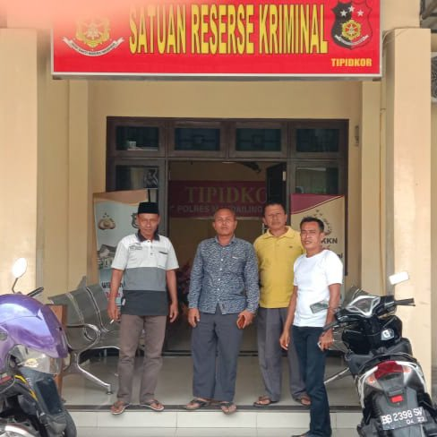 Polres Madina Mulai Proses Pengaduan Masyarakat Desa Gunungtua Jae