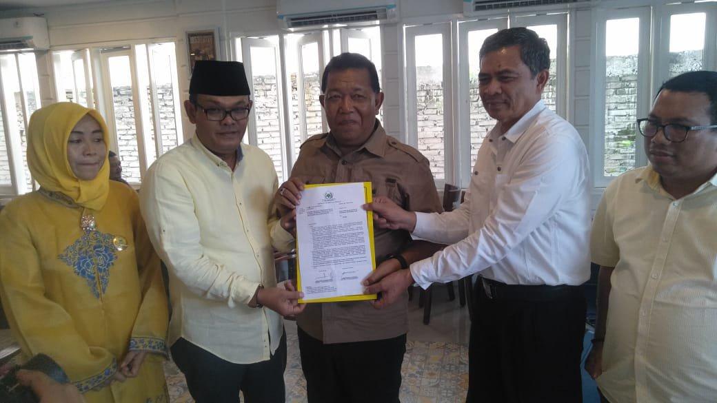 DPD Golkar Madina Usung Dahlan-Aswin pada Pilkada Madina 2020