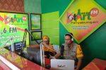 Imbau Masyarakat Antisipasi Penyebaran Covid-19, Kapolres Madina On Air di Radio StArt FM Panyabungan