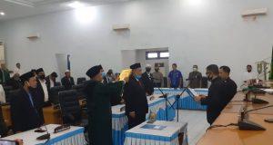 Pelantikan PAW, Ahmad Taufik Siregar Resmi Anggota DPRD Madina