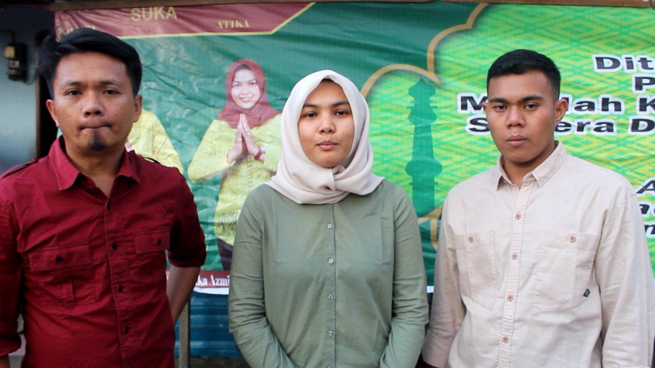 Atika Azmi Bersama PPID Bagikan Paket Sembako kepada Lansia dan Anak Yatim