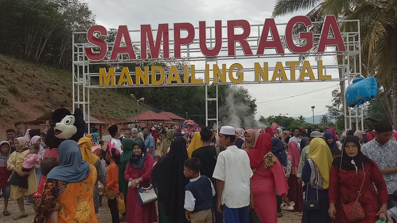 Warga Masih Ramai Mengunjungi Sampuraga