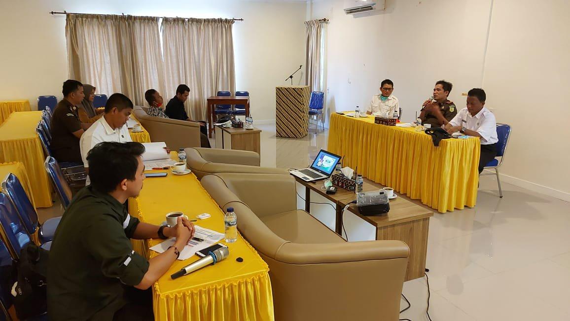 BPJamsostek Madina, Kejari dan PMD Rapat Monitoring dan Evaluasi Kepesertaan Pemerintah Desa