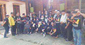 IKANAS Labuhan Batu Kunjungi Rumah Tempat Lahirnya Abdul Haris Nasution