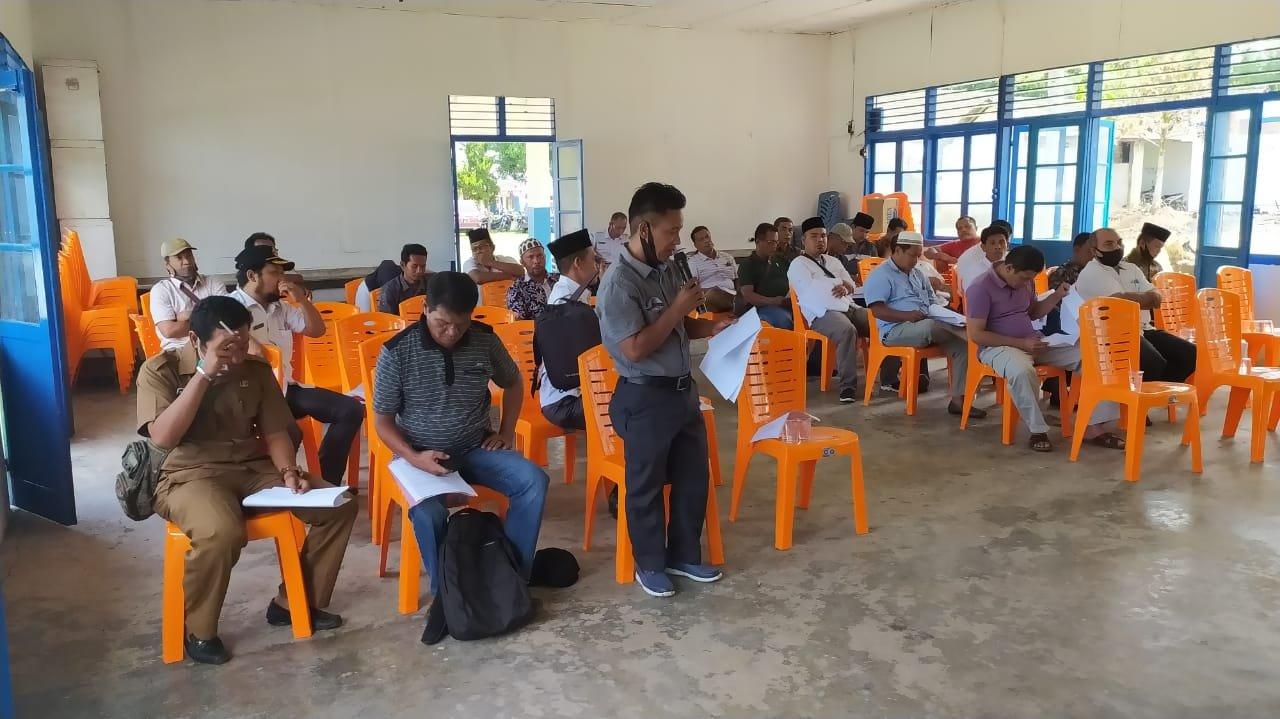 BPKPAD Madina Sosialisasi Pendapatan Daerah dari Sektor Piutang Pajak Daerah