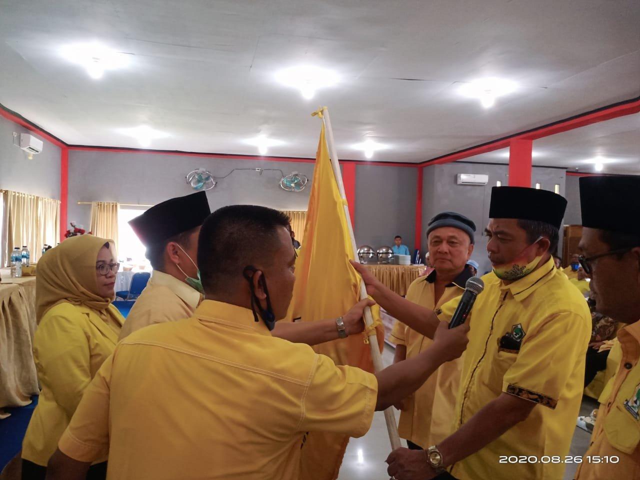 Aswin Parinduri Kembali Nakhodai DPD Golkar Madina Periode 2020-2025