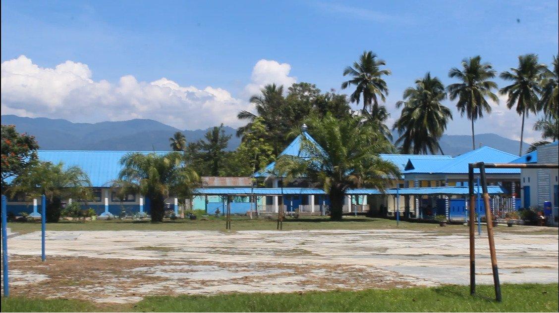 Persiapan SMP Negeri 1 panyabungan Menyambut Sekolah di Masa Pandemi