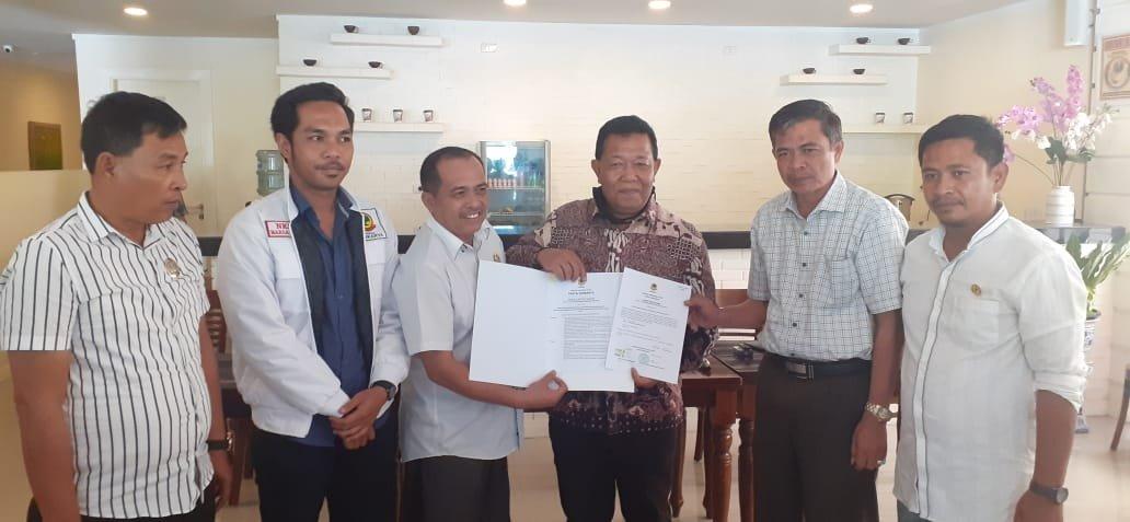 Pilkada Madina, Partai Beringin Karya Serahkan Rekomendasi ke Dahlan-Aswin