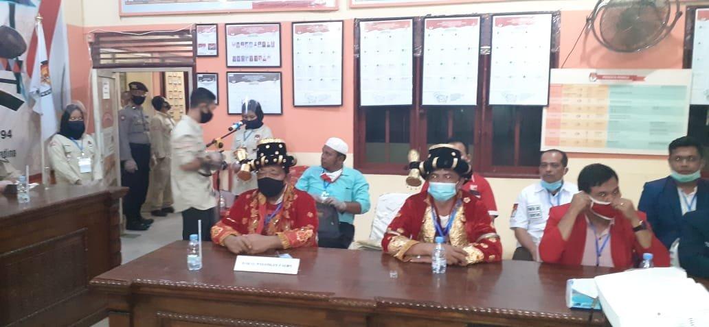 Berkas Pencalonan Dahlan Aswin Sudah Diterima KPU