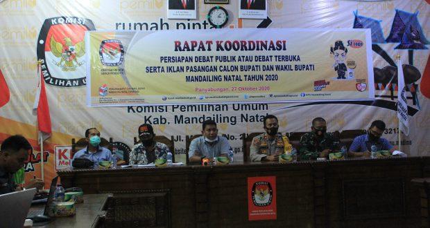 Debat Kandidat Pilkada Madina Dilaksanakan di Tapanuli Tengah