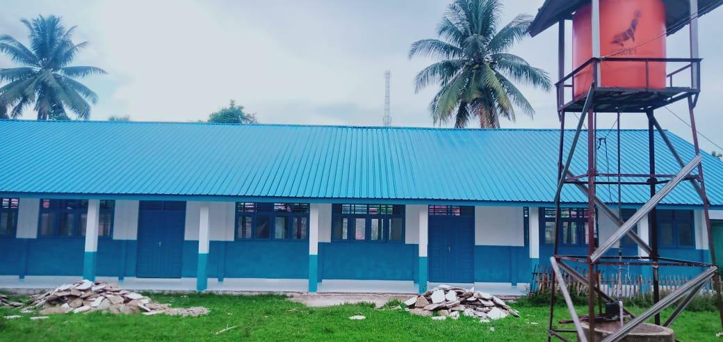 Lewat DAK, Disdik Madina Renovasi 3 Kelas di SMPN 1 Hutabargot