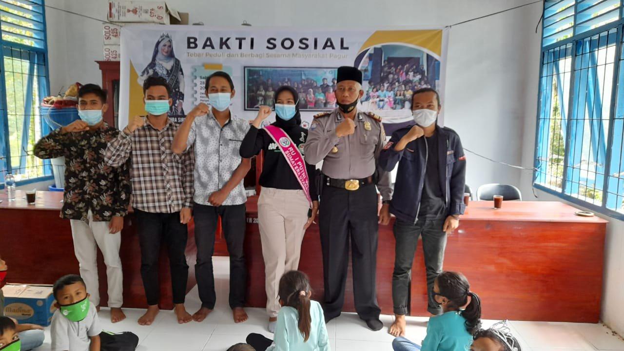 RU I Putri Wisata Sumatera Utara, Khofifah Azzahra Siregar Aktif Kegiatan Sosial Covid-19